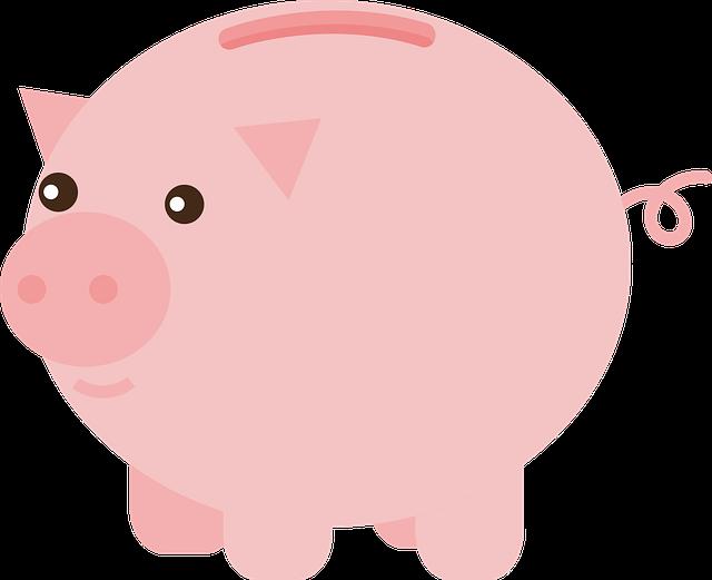 An illustration of a piggy bank