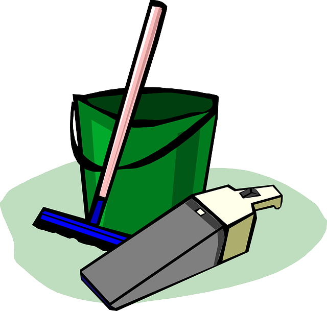 Illustration of Cleaning Equipment